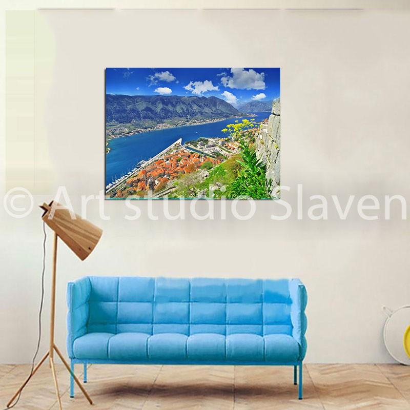 Prodaja fotografija Kotora na platnu